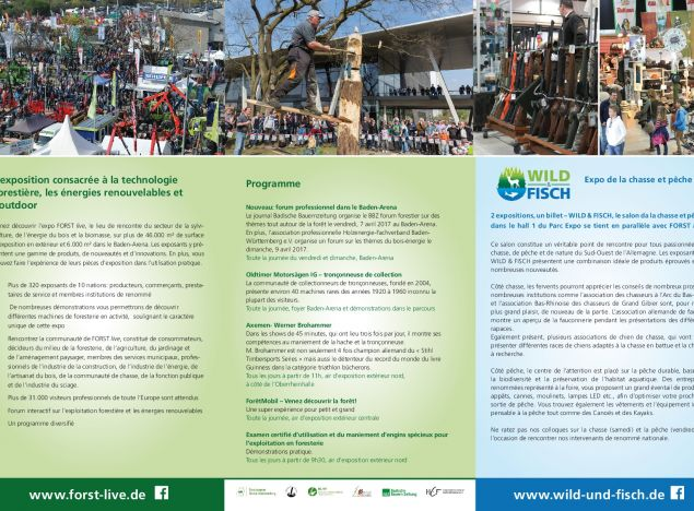 AMR, official partner of FORST LIVE forest exhibition