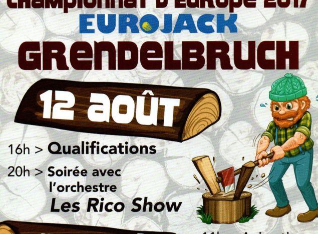 AMR sera présent au concours de bûcherons EUROJACK à Grendelbruch