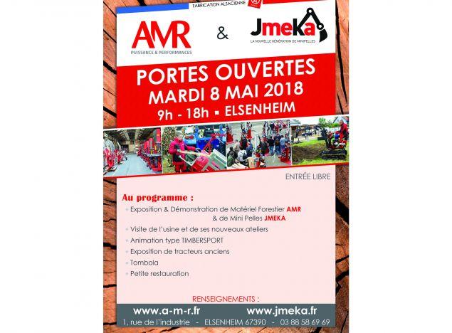 Journée Portes Ouvertes AMR le 8 mai 2018