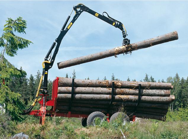 Offres spéciales sur nos Remorques et Grues forestières