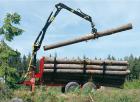 Promotions sur nos Remorques et Grues forestières