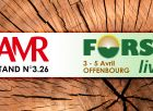 AMR will be present at the fair FORSTlive (OFFENBURG)