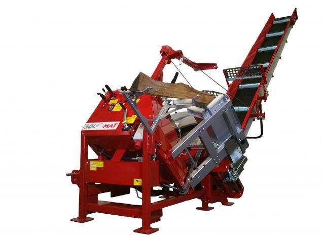 NEW ! Solomat with hydraulic tilting system