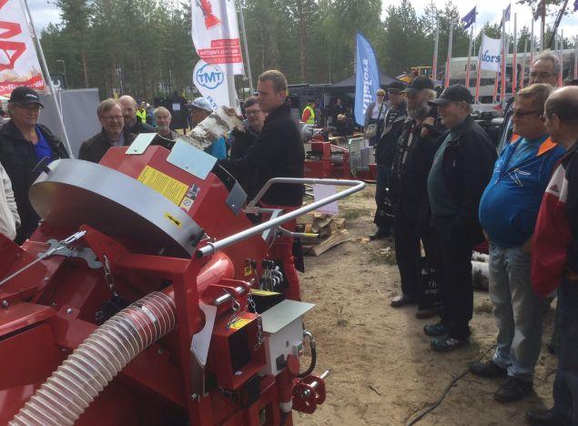 AMR à FinnMETKO en Finlande 1, 2 et 3 Septembre 2016