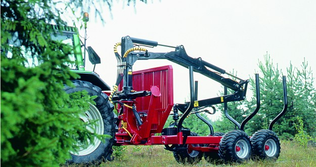 Remorque forestière 8,5 T
