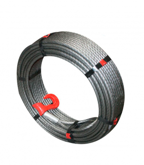 Cable retreint treuils tajfun