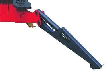 Vérins stabilisateurs avec soupapes de freinage integrées