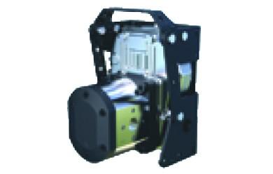 Pompe suspendue avec multiplicateur integré