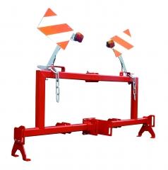 Supporting frame for woodsplitter 12-27 tons + bundler