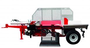 Fendeuse de bûches horizontale 28 Tonnes sur essieu - Série H28 ESS