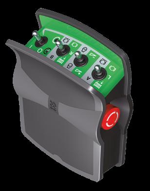 Radiocommande 4-8 fonctions
