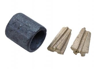 Stahl-Pressklemme
