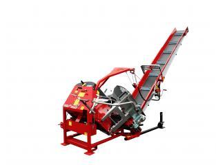 SOLOMAT - Automatic / Hydraulic  /Mechanical log carriage ciruclar saw with conveyor