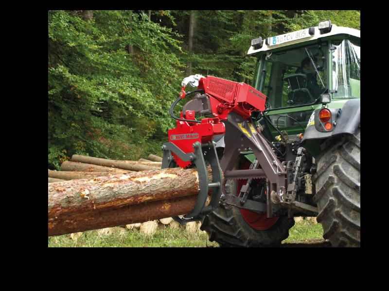Pince de débardage série RZ AMR # Pince A Bois Pour Tracteur