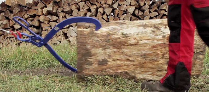 guide cable pour treuil de fendeuse
