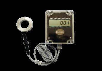 Stundenzähler mit Zapfwellensensor und Drehzahlanzeige